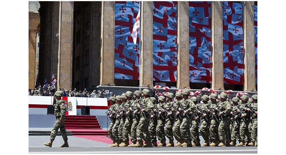 سربازان گرجستانی افغانستان را پس از 17 سال ترک کردند