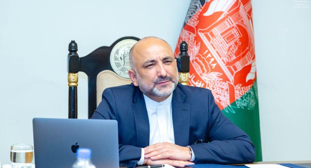حنیف اتمر سرپرست وزارت خارجه افغانستان