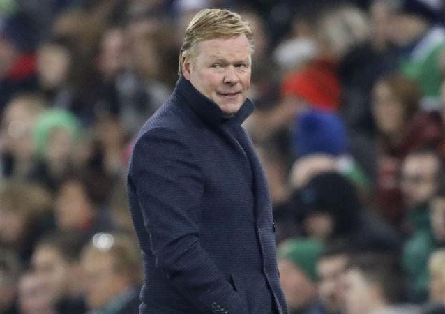 Ronald Koeman, entrenador de la selección holandesa (foto de archivo)