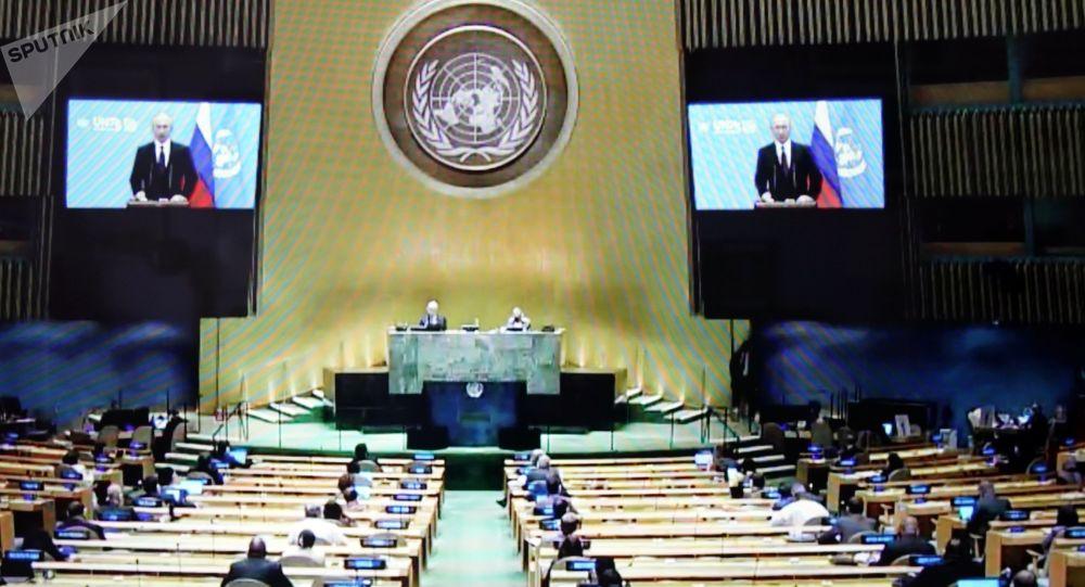 سازمان ملل: نماینده اشرف غنی در مجمع عمومی سازمان ملل سخنرانی میکند