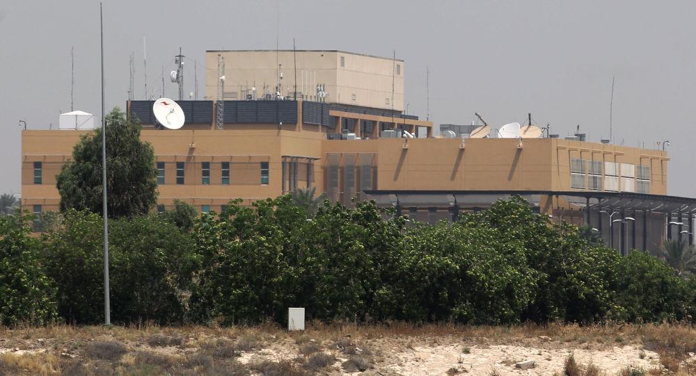 سفارت امریکا در بغداد هدف حملات راکتی و پهپادی قرار گرفت