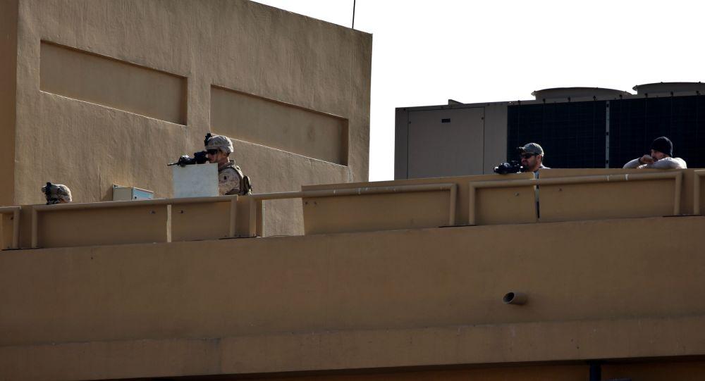 سفارت امریکا که با سامانه موشکی محافظت میشود