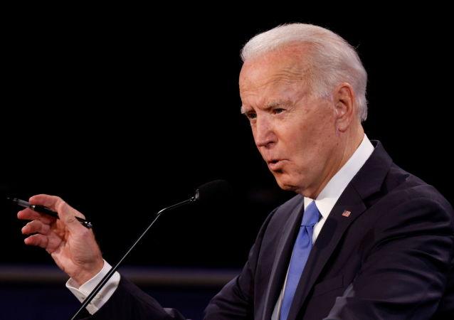 جو بایدن در انتخابات ریاست جمهوری امریکا رای داد