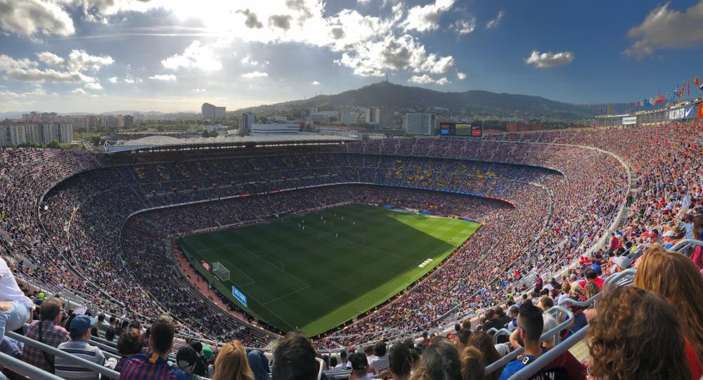 Camp Nou, sân nhà của câu lạc bộ bóng đá FC Barcelona