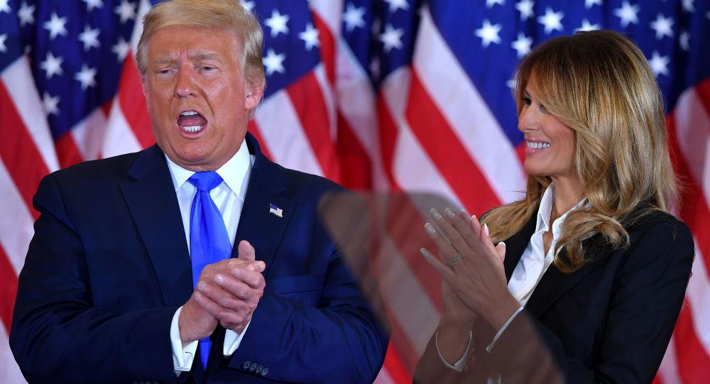 ترامپ: بایدن تنها از دید اخبار رسانه های جعلی پیروز است