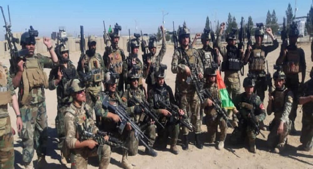 ولسوالی ارغنداب از وجود جنگجویان طالبان پاکسازی شده است