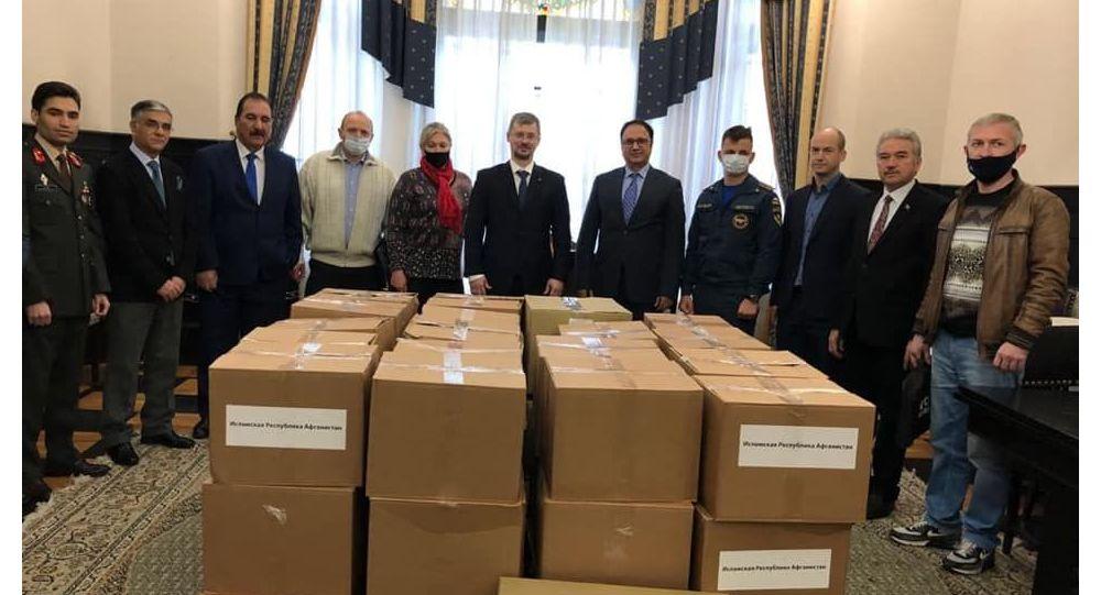 روسیه به افغانستان کمک بشردوستانه فرستاد