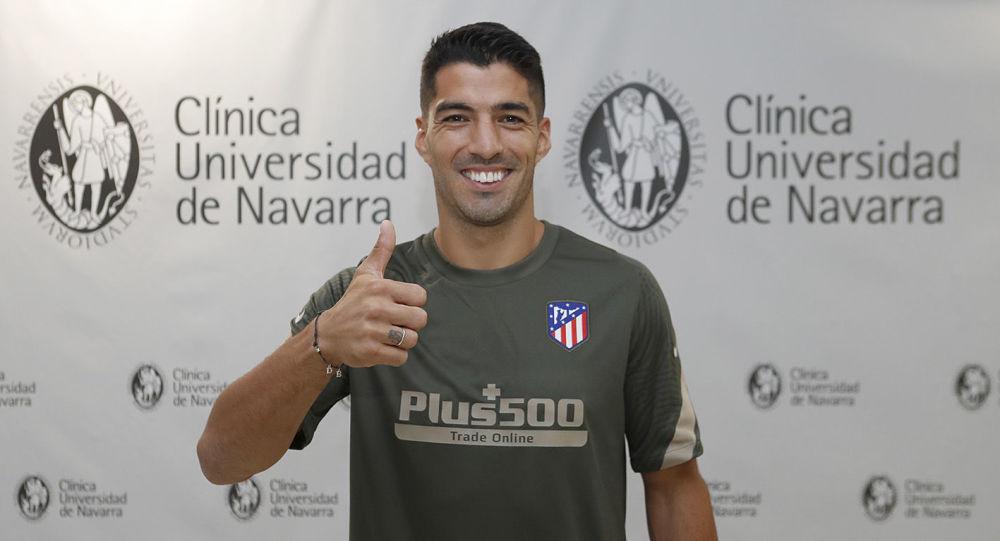 Luis Suárez, futbolista uruguayo