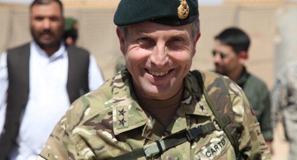 انتقاد رئیس ستاد ارتش انگلیس از بیرون شدن نظامیان خارجی از افغانستان