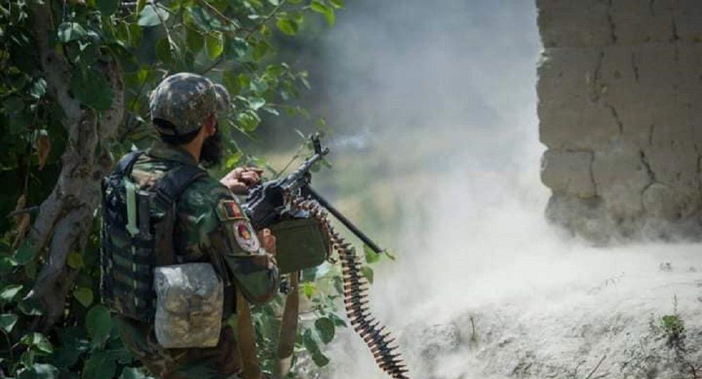 21 طالب مسلح در درگیری با نیروهای امنیتی در هلمند کشته شدند