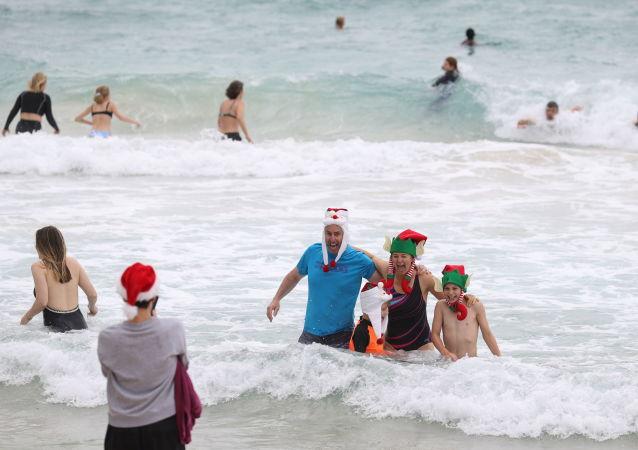 جالب ترین عکس هفته/ جشن کریسمس در استرالیا
