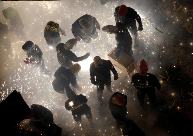 آتش بازی سال نو میلادی در ایتالیا جان دهها پرنده را گرفت
