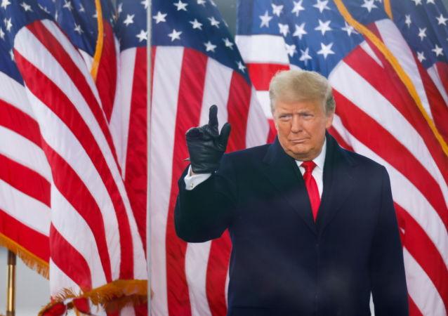پایان دوران ریاست جمهوری ترامپ اعلام شد+عکس