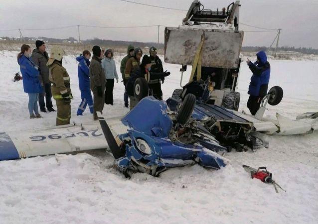 اعلام علت فرو افتادن هواپیما در لنینگراد روسیه