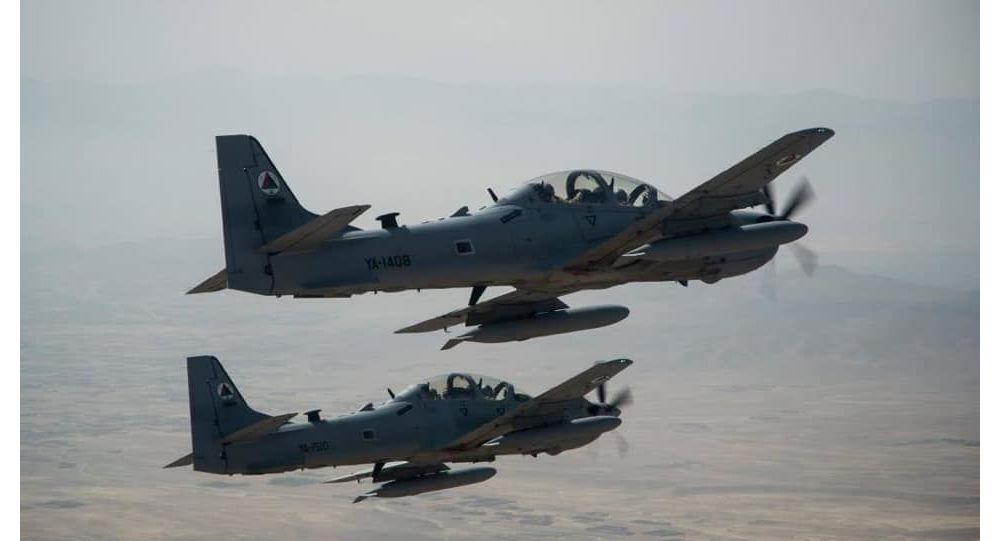 در یورش نیروهای هوایی افغانستان۱۷ جنگجوی طالبان در هلمند کشته شدند