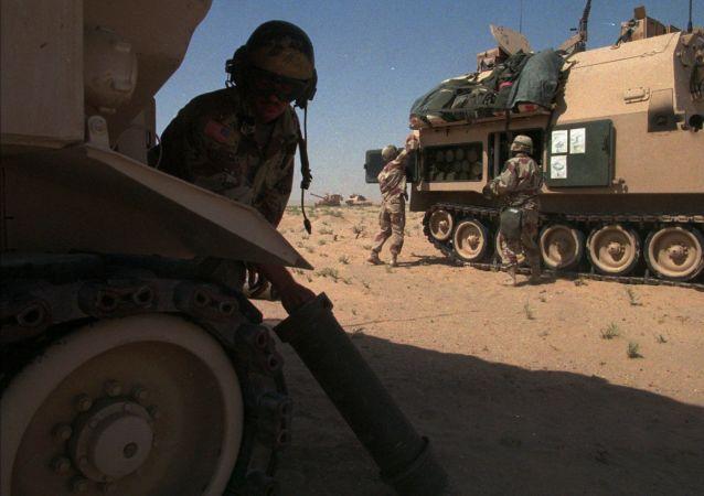 کشته شدن یک نظامی امریکایی در کویت