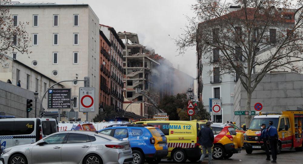 انفجار در مادرید اسپانیا جان چندین تن را گرفت