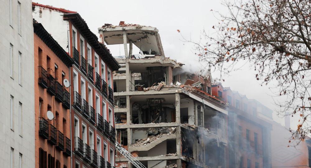انفجار مهيبی پایتخت اسپانیا را لرزاند + ویدیو