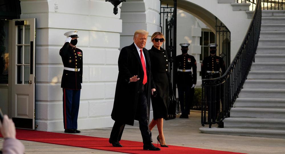ترامپ در کاخ سفید برای بایدن نامه گذاشت