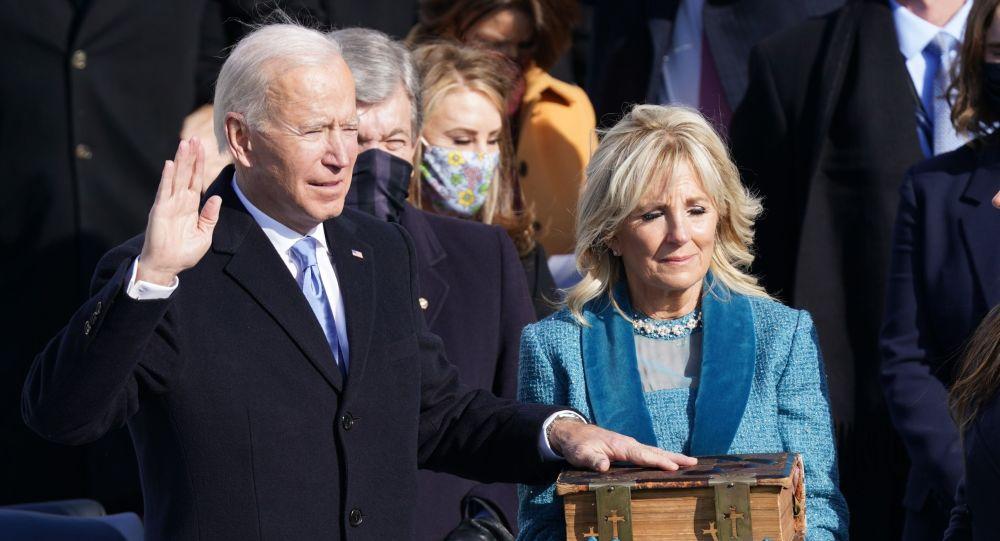 جو بایدن بهعنوان چهل و ششمین رئیسجمهور امریکا سوگند خورد