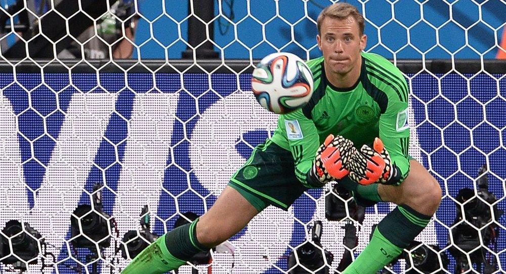 Football. 2014 World Cup. Brazil vs. Germany