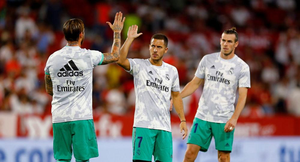 لاعب ريال مدريد إيدين هازارد
