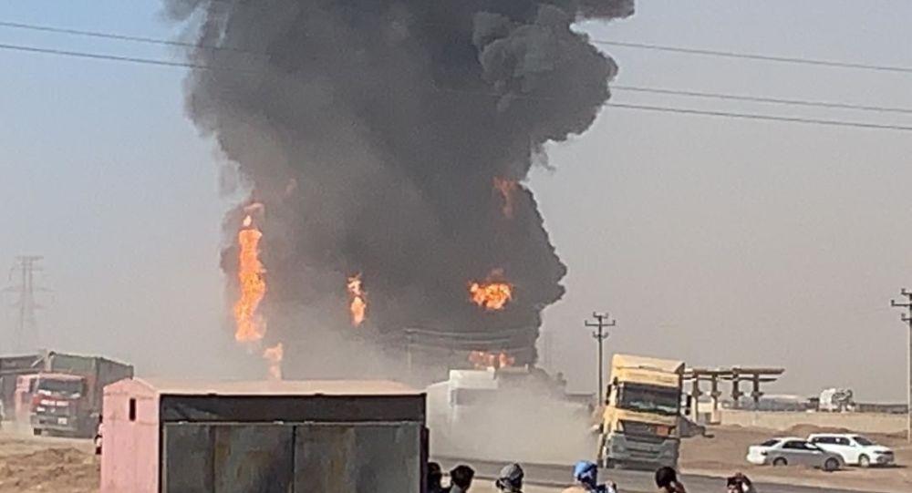 آتش سوزی در گمرک هرات