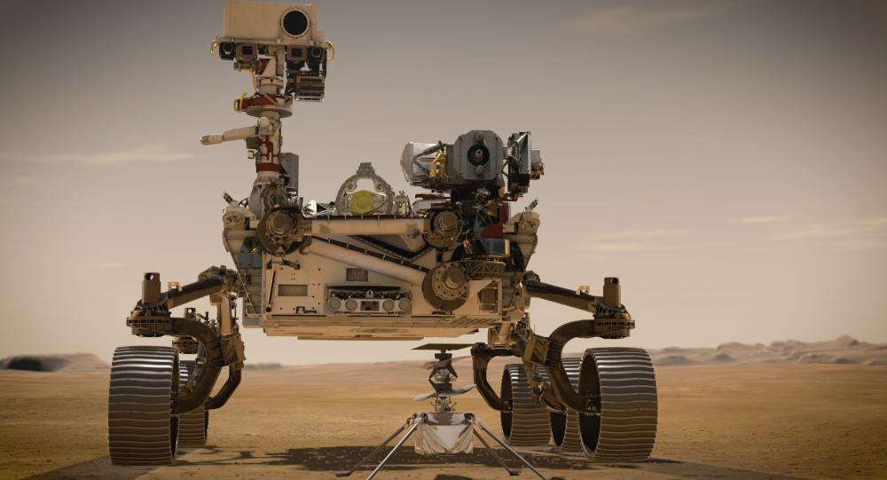 آمادگی مریخ نورد پشتکار برای پرواز هلیکوپتر + ویدئو