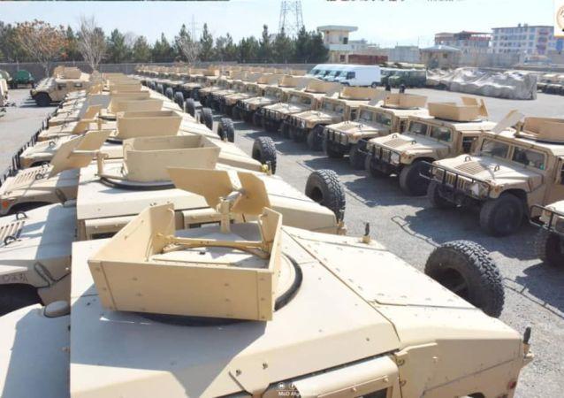 سلاح و مهمات رها شده امریکا در افغانستان  کشنده است