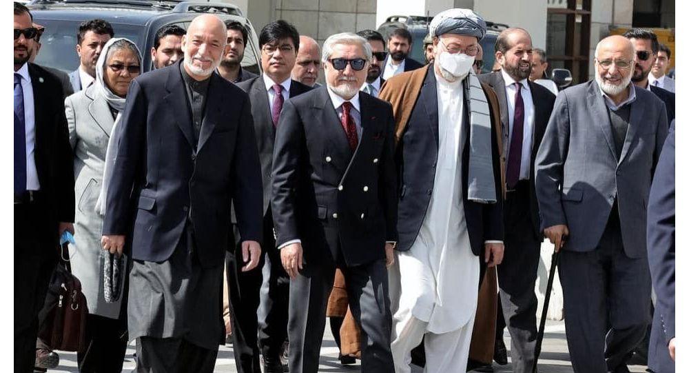 هیئت عالیرتبه جمهوری اسلامی افغانستان در نشست مسکو برای صلح افغانستان