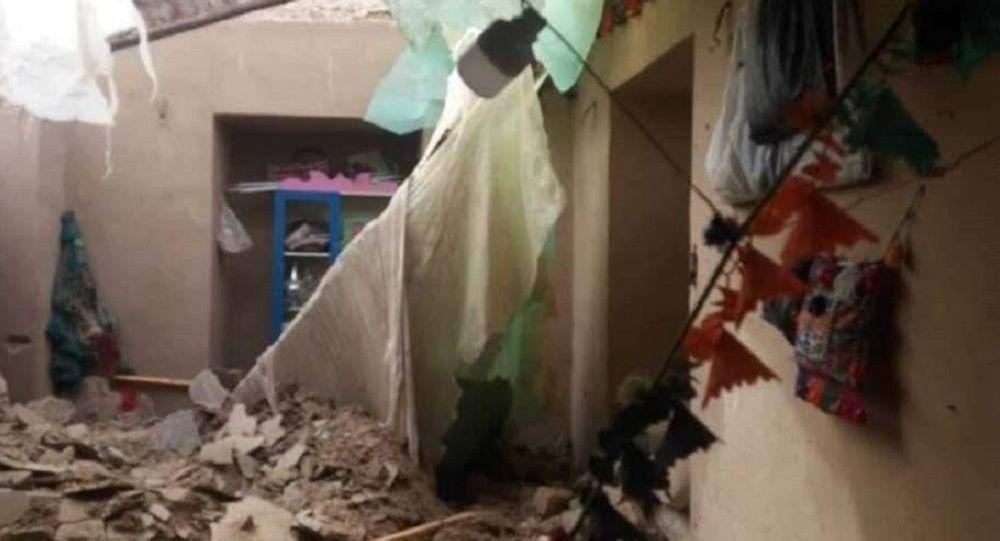 در پی اصابت یک هاوان به یک خانه در بادغیس، دو کودک و یک زن جان باختند