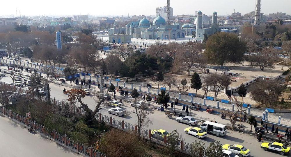 افتتاح دو کانال آب رسانی در ولایت بلخ