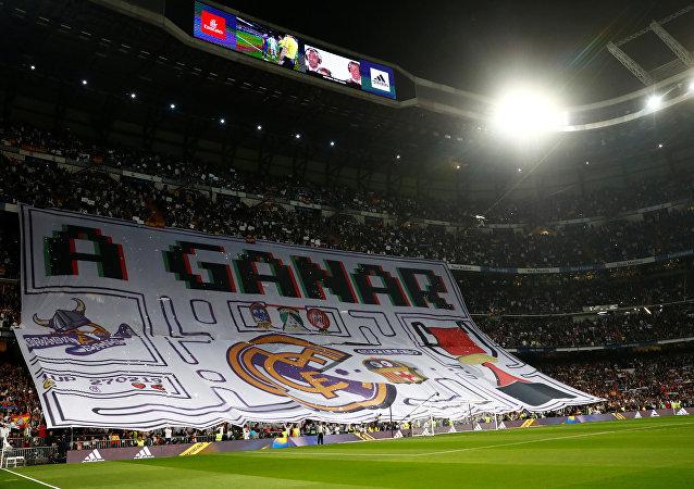 مبارة  نصف النهائي لكأس ملك إسبانيا بين ريال مدريد وبرشلونة