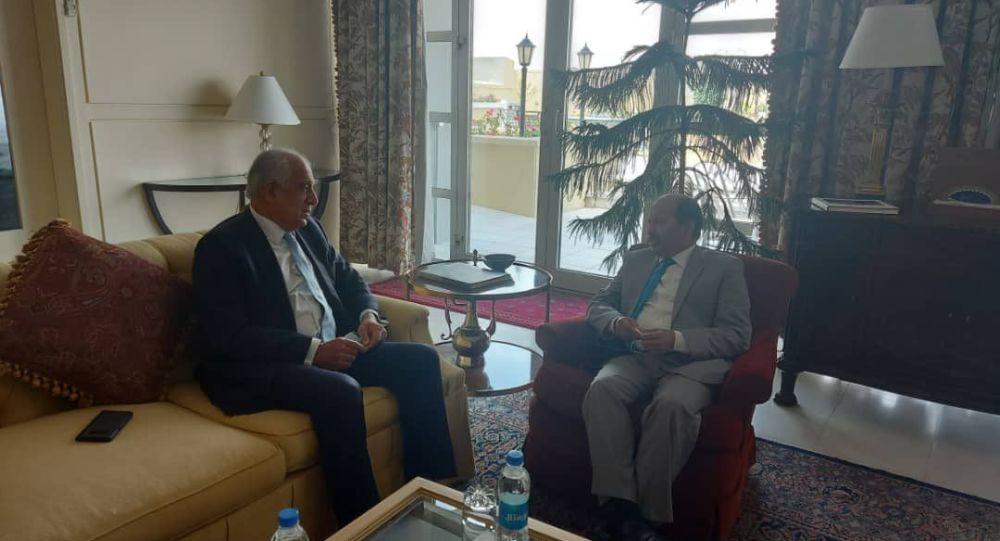 محور گفتگوی خلیلزاد و سفیر پاکستان در کابل چه بود؟