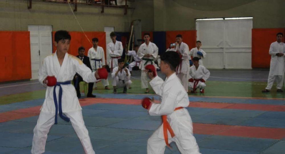 مسابقات لیگ کاراته دو در بلخ