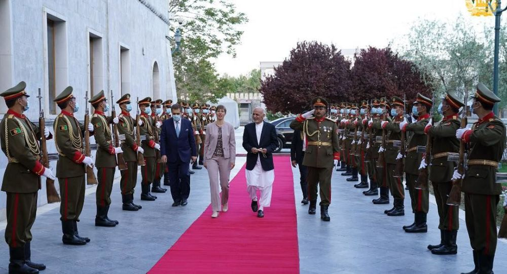 رئیس جمهور استونیا به کابل آمد