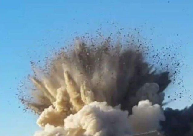 انفجار ماین