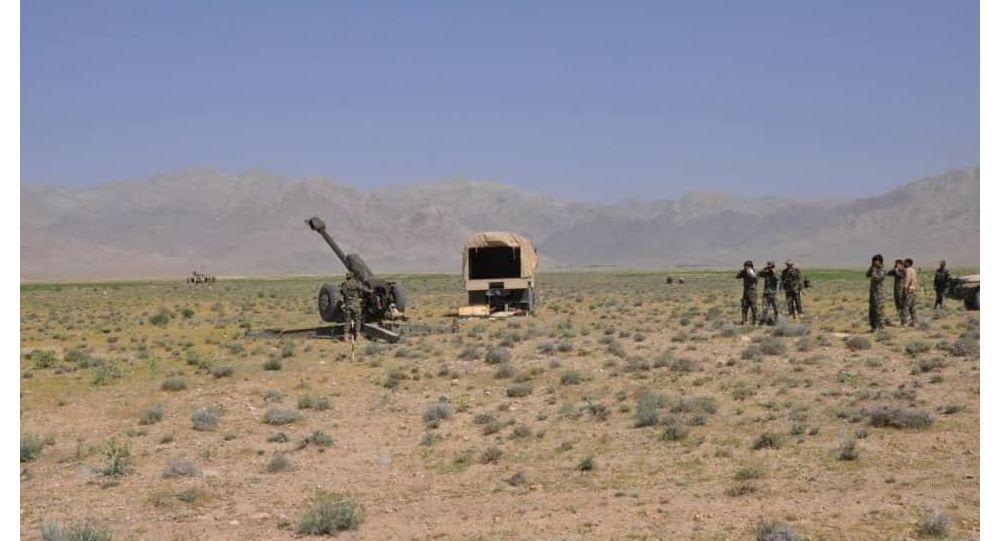 حمله گسترده طالبان به ناهور غزنی