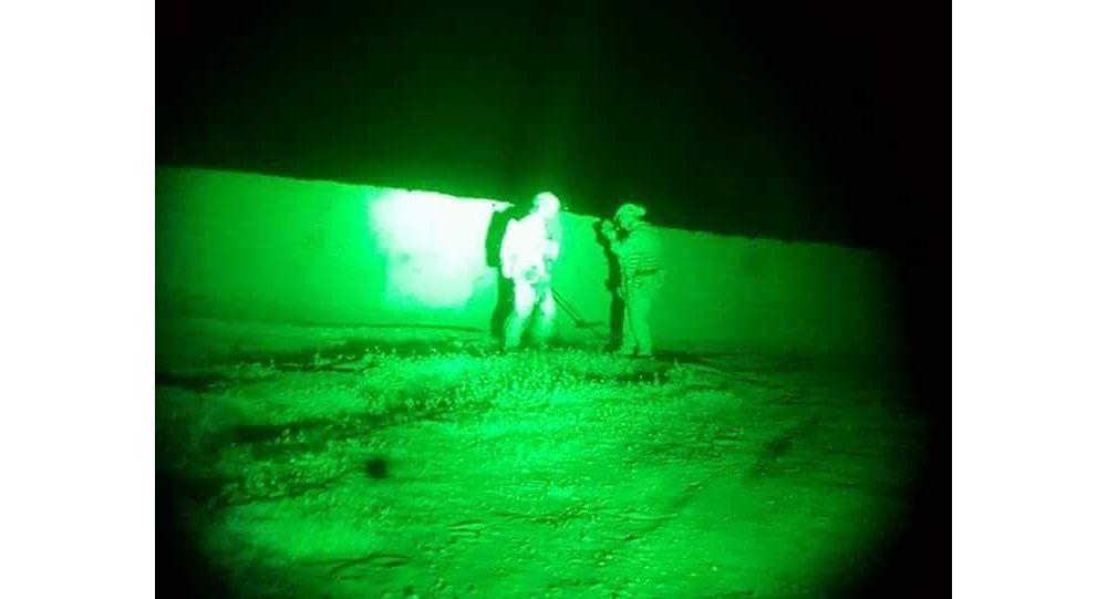 عملیات نیروهای ویژه بالای زندان طالبان در ولایت هلمند