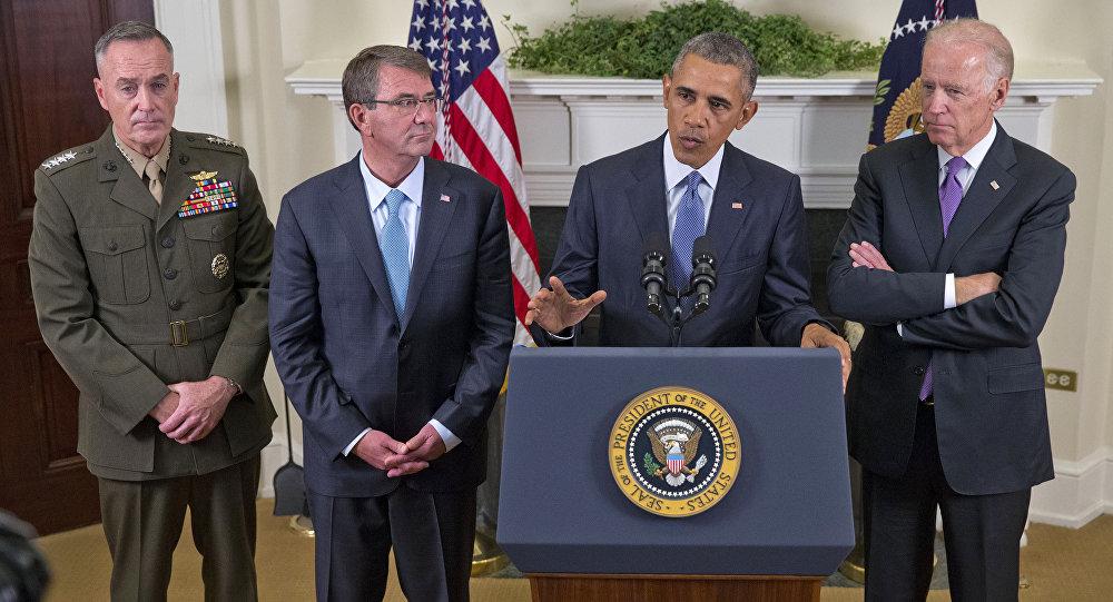 صحبتهای وزیر دفاع پیشین امریکا در مورد عدم تمایل بایدن به حمله به بن لادن