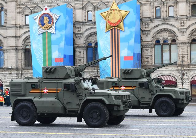 تحویل موتر جدید زرهی شریک به ارتش روسیه + عکس