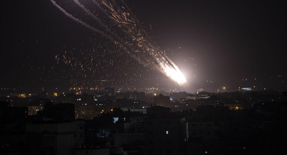 پایگاه هوایی اسرائیل هدف حمله راکتی قرار گرفت