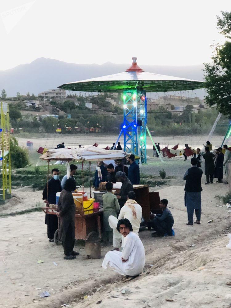 تجلیل از عید در کابل