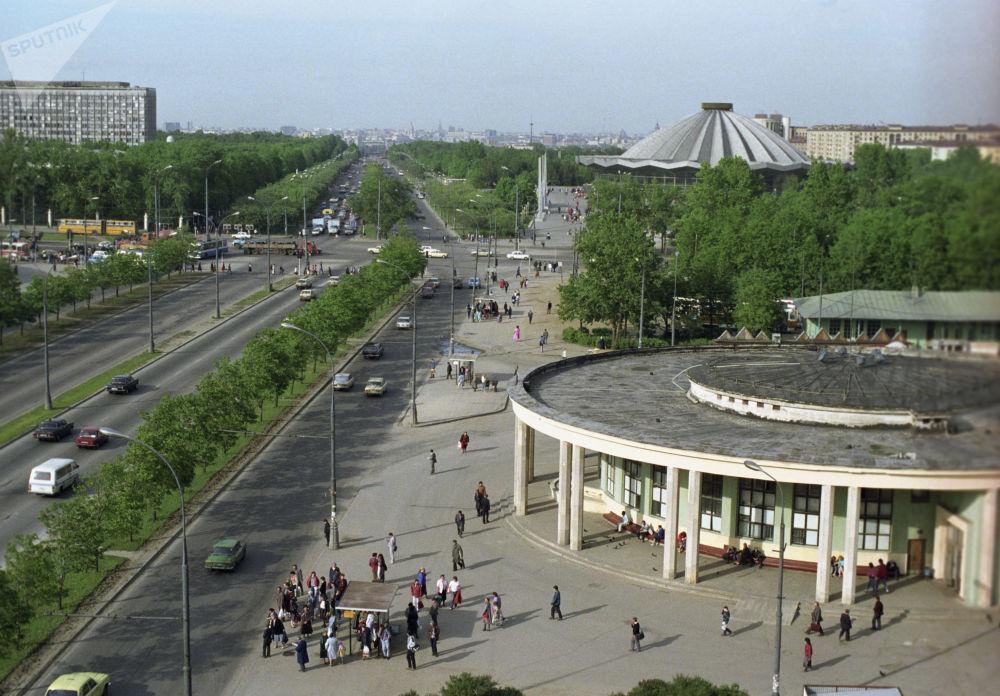 مترو مسکو 86 سالگی را جشن می گیرد/متروی مسکو سال 1991