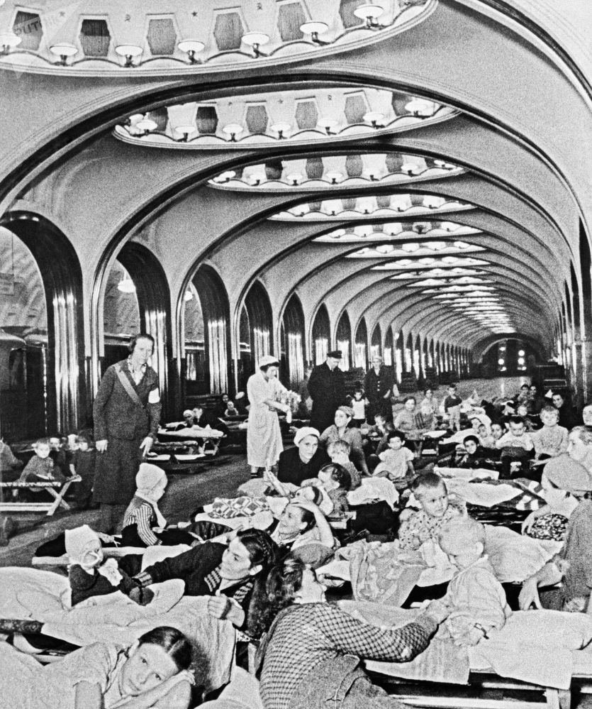 مترو مسکو 86 سالگی را جشن می گیرد/متروی مسکو سال 1941