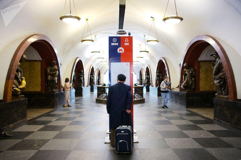 مترو مسکو 86 سالگی را جشن می گیرد/متروی مسکو سال 2021