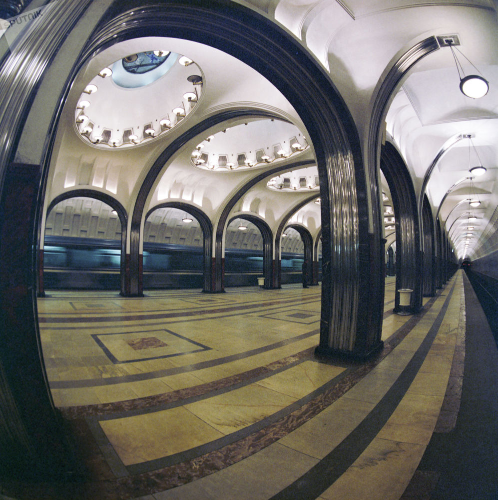 مترو مسکو 86 سالگی را جشن می گیرد