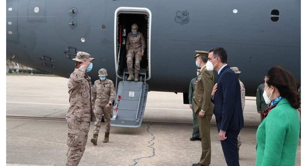 آخرین سرباز اسپانیا از افغانستان خارج شد