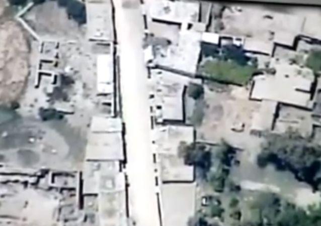 تک تیرانداز طالبان ازبین رفت+ویدیو