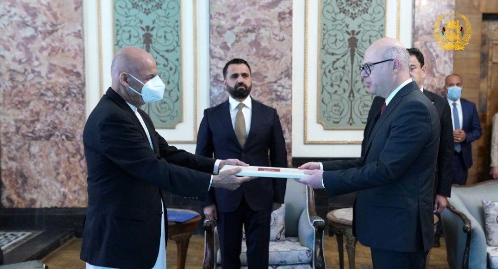 سفیر جدید ترکیه برای افغانستان ماموریتش را آغاز کرد